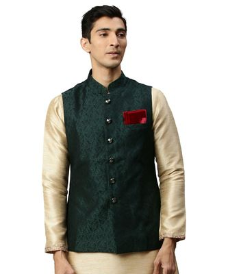 Green Rayon Jacket