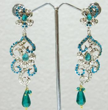 Fashion Bridal Bollywood Victorian Earrings