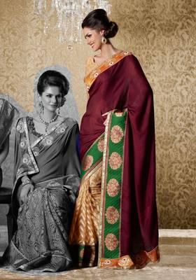 Elegant Designer Sari Gun8406c
