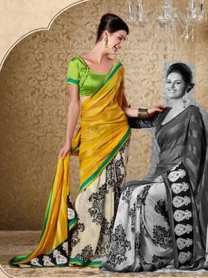 Elegant Designer Sari Gun8415a