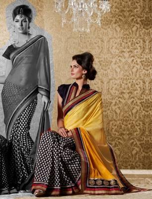 Elegant Designer Sari Gun8419c
