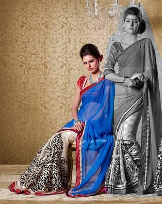Elegant Designer Sari Gun8420a