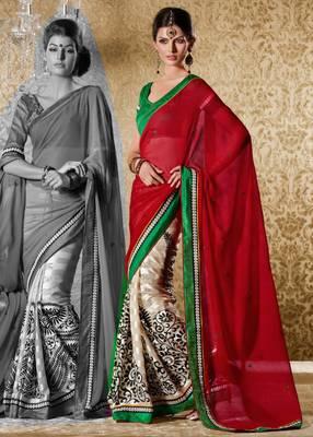 Elegant Designer Sari Gun8420c