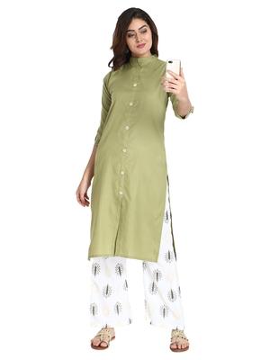 Women's Pista Rayon kurti