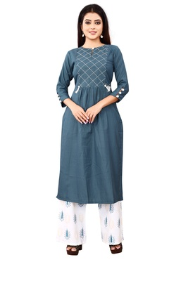 Women's Rama Rayon kurti