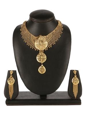 designer 1 Gram High Gold plated Necklace Set For Women