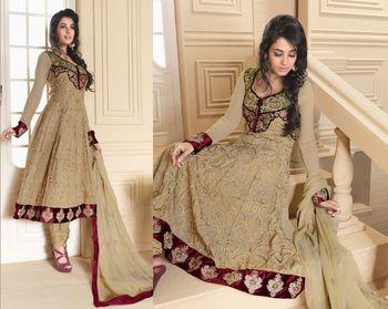 Designer Dress Material Dreamgirl4007