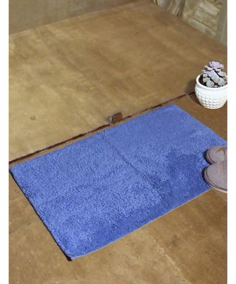 AVI Living Luxurious Ringspun Cotton Bathmat 1400 GSM (Blue)