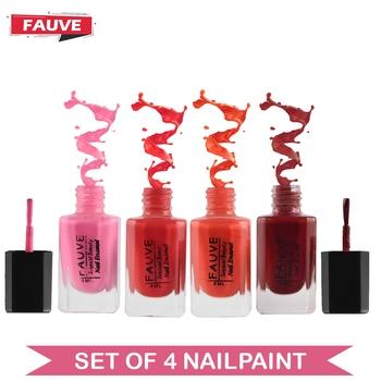 Fauve FN15 Nail Paint Violet Red Matte Nude Pink Matte