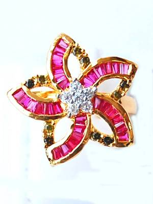 Lovely AD Flower Ring