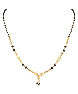 Delicate Gold toned Mangalsutra For Women