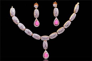 Hot Indian Fashion elegant Crystal Rhinestone Necklace