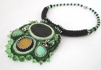 Green Hope- Pendant Necklace