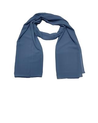 Premium Chiffon Hijab  Blue