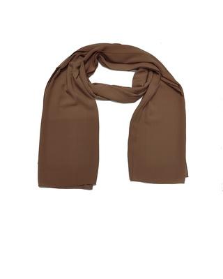 Premium Chiffon Hijab  Brown