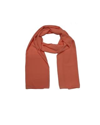 Premium Chiffon Hijab  Orange
