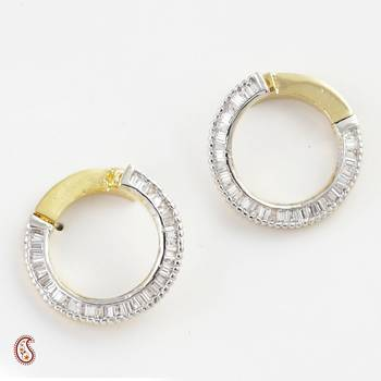 Tempting Earring Set with American Diamonds