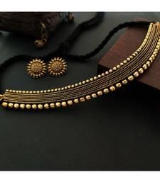 Strap Necklace Set