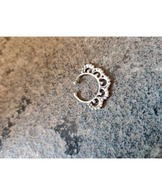 German Silver Septum Ring