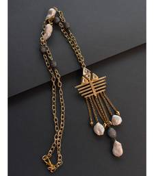 Gold and Black Necklaces
