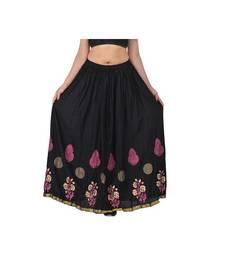 Jaipuri Printed Long royon Skirt