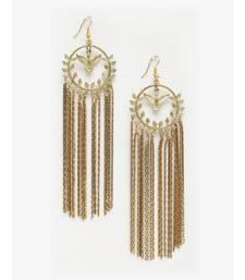 Bird in Chains Designer Tassel Earrings