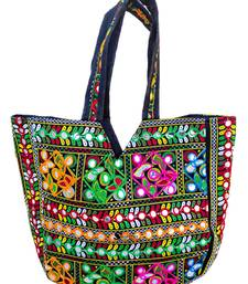 Shoptory India Embroidred Rajasthani Multicolor Handbag Casual Party Hobo For Women Girls, Multi