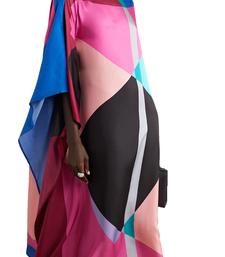 JSDC Women's Beach Wear Printed Softy Silk Kaftan