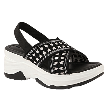 Do Bhai Women Platform Heeled Sandals