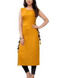 Women's Rayon Plain Readymade Kurti