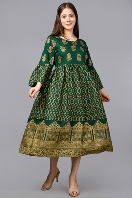 Aurish Designer Green Kurta