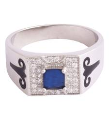 Shubham Silver Band For Him-FRL175