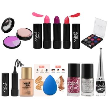 Women/Girl Gift Set Makeup Kit (Pack of 11)