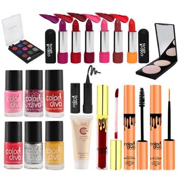 New Generation Indian Beauties Makeup Kit (Pack of 19)