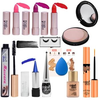 Trendy Beauty Kit Combo  (Pack of 11)