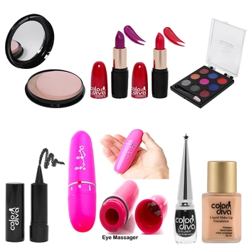 Makeup Glamour Kit Combo (Pack of 8)