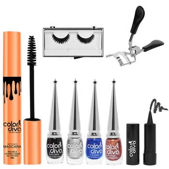 Professional Eye Make Up Combo (Pack of 8)