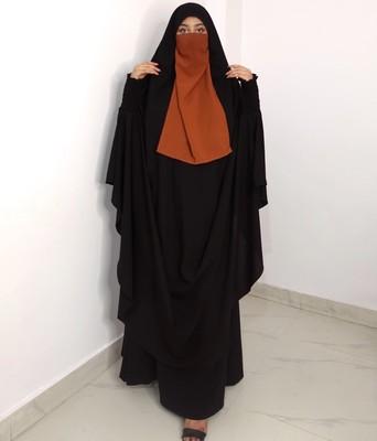 Two Pieces Jilbab Set
