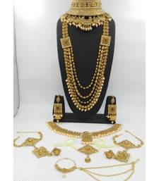 GOLD DULHANSET FOR WOMENS