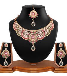 Buy Multicolor Diamond necklace-sets necklace-set online