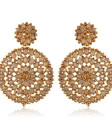 Oxidised Silver German Exquisite Trendy bollywood Earring for Women and Girls