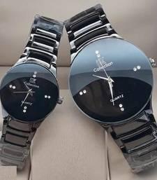 metal belt same design couple watches