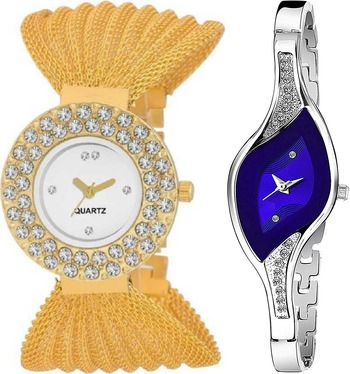 trendy womens watches(pack of 2)