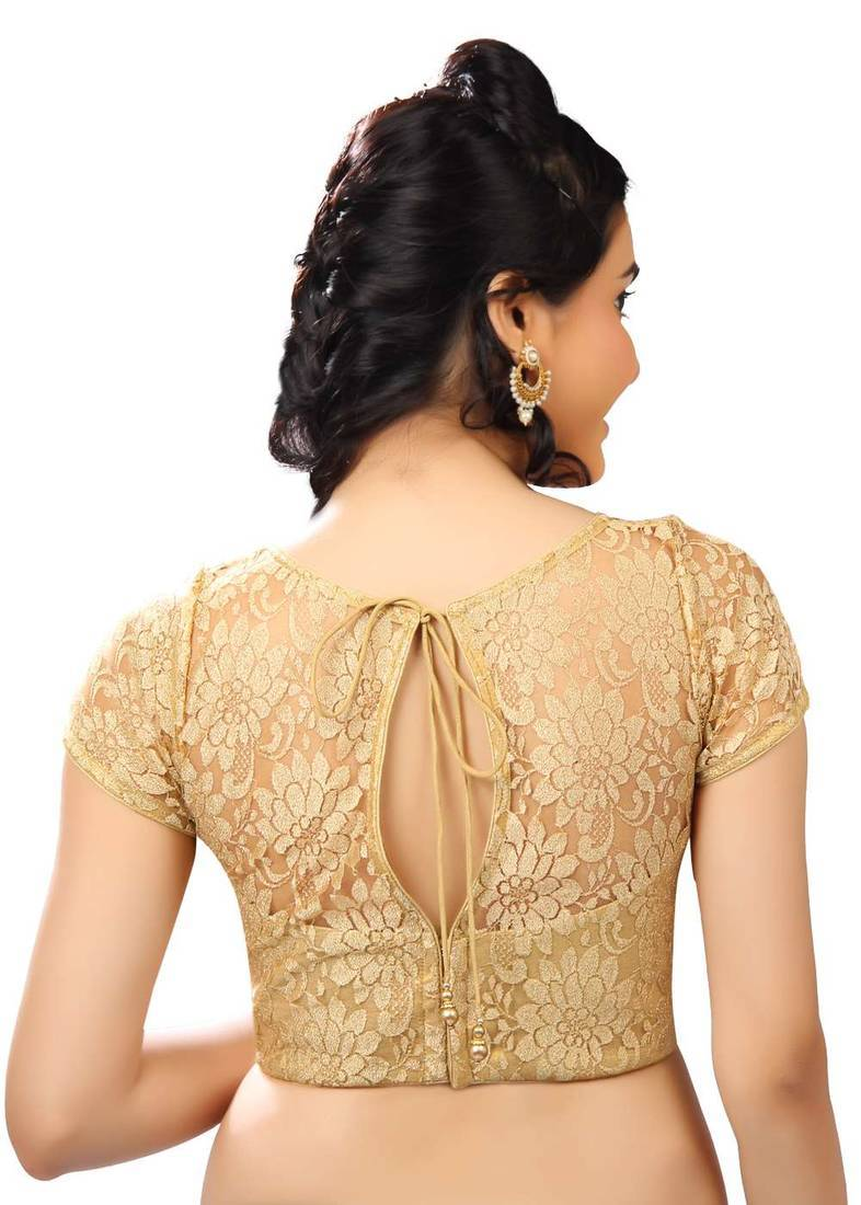 c3acfdf8d7d13 gold net readymade-blouse - muhenera s - 515555