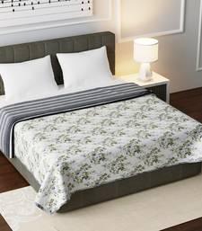 Cotton Jaipuri Double Bed Dohar Lightweight Reversible Dohar for Double Bed Blanket/Duvet/Quilt/AC Dohar Flowers Print