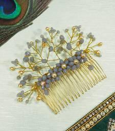 Grey  Women's Hair Brooch