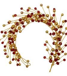 Gold  Women's Hair Veni Hair Gajara
