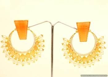 Yellow Zircon   Danglers-Drops
