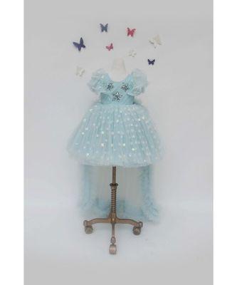 Blue Star Net Dress