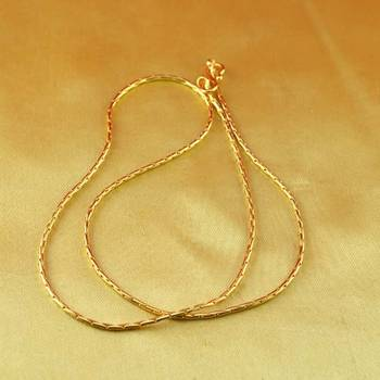 gold platted chain